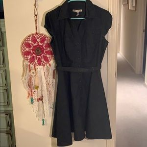 American Rag button down dress with belt